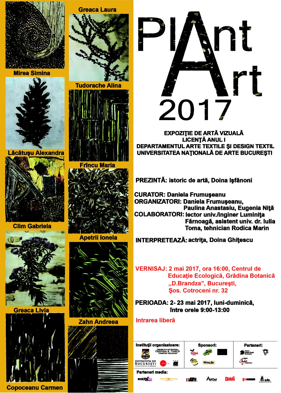 PLANT ART 2017 – Vernisajul expoziţiei de artă vizuală