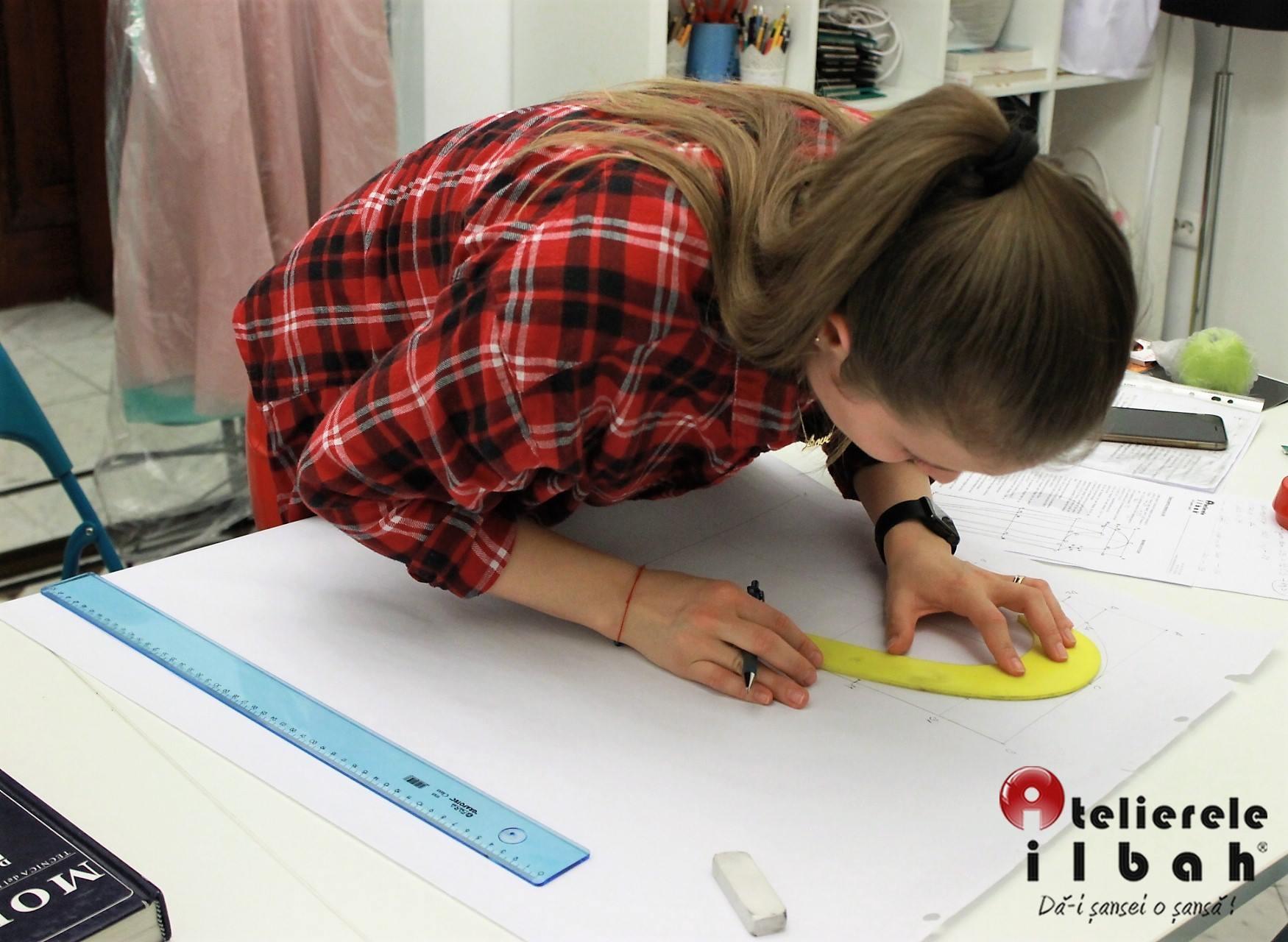 Formare tehnică în modă la Atelierele ILBAH