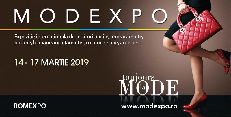 MODEXPO, expoziția dedicată modei și industriei textile