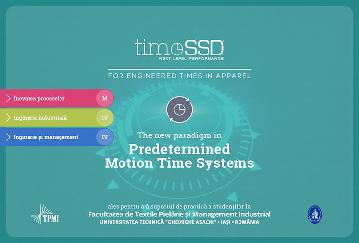 timeSSD – CRONOMETRUL STUDENȚILOR TEXTILIȘTI