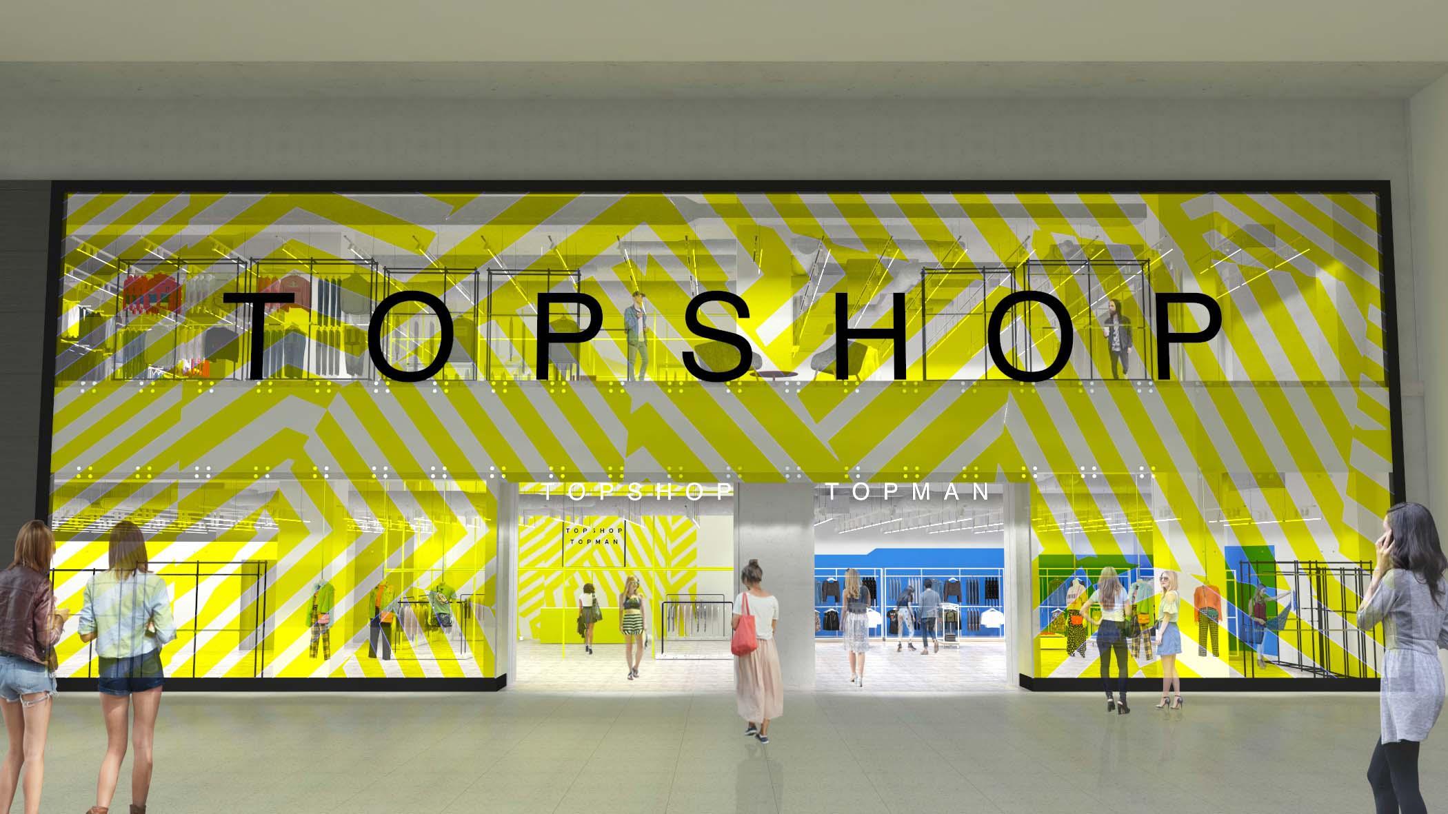 Cel mai mare magazin Topshop Topman – în Băneasa Shopping City
