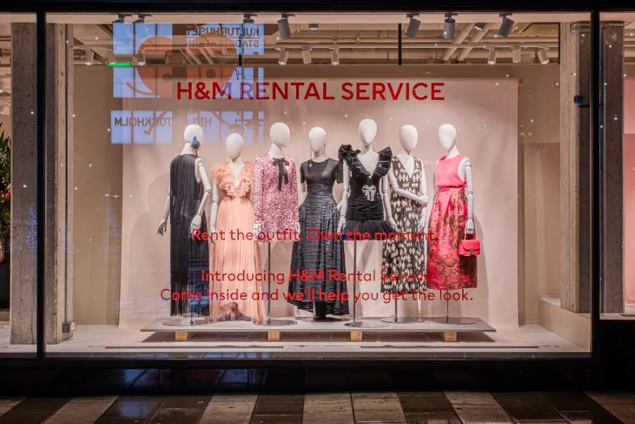 Haine de închiriat la Hennes&Mauritz