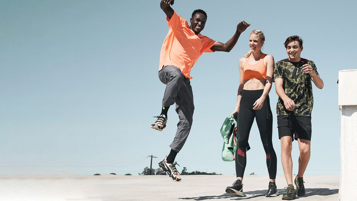 Sportswear Collection by PUMA and First Mile