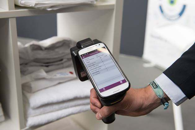 The smart phone is revolutionising textile cleaning
