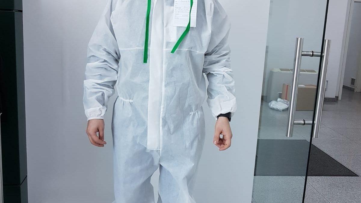 Tanex începe producția de îmbrăcăminte de protecție de unică folosință