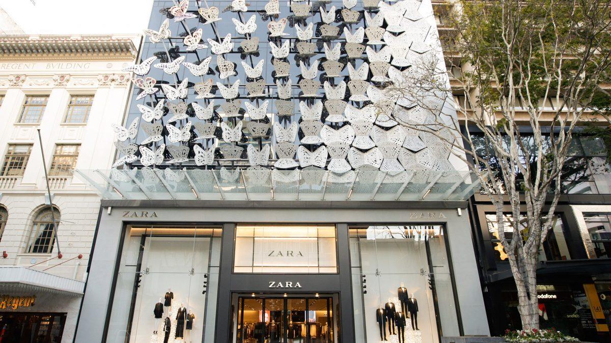 Vânzările Inditex scad cu 44% în primul trimestru din 2020
