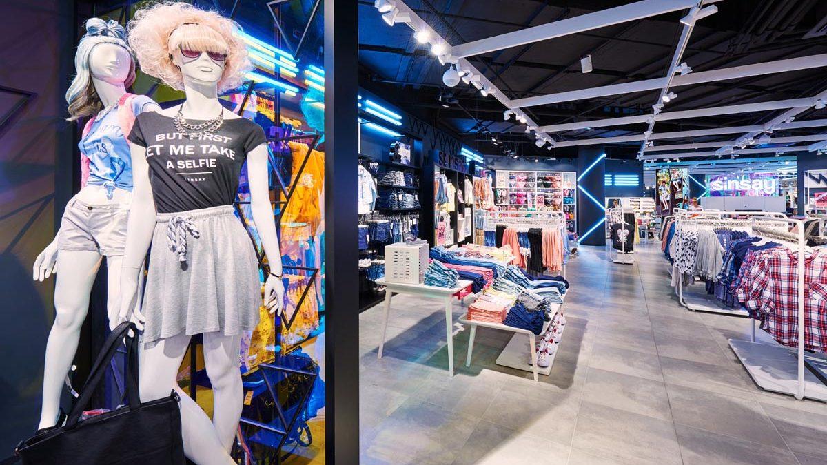 SINSAY deschide magazin de 2.000 mp în Colosseum Mall