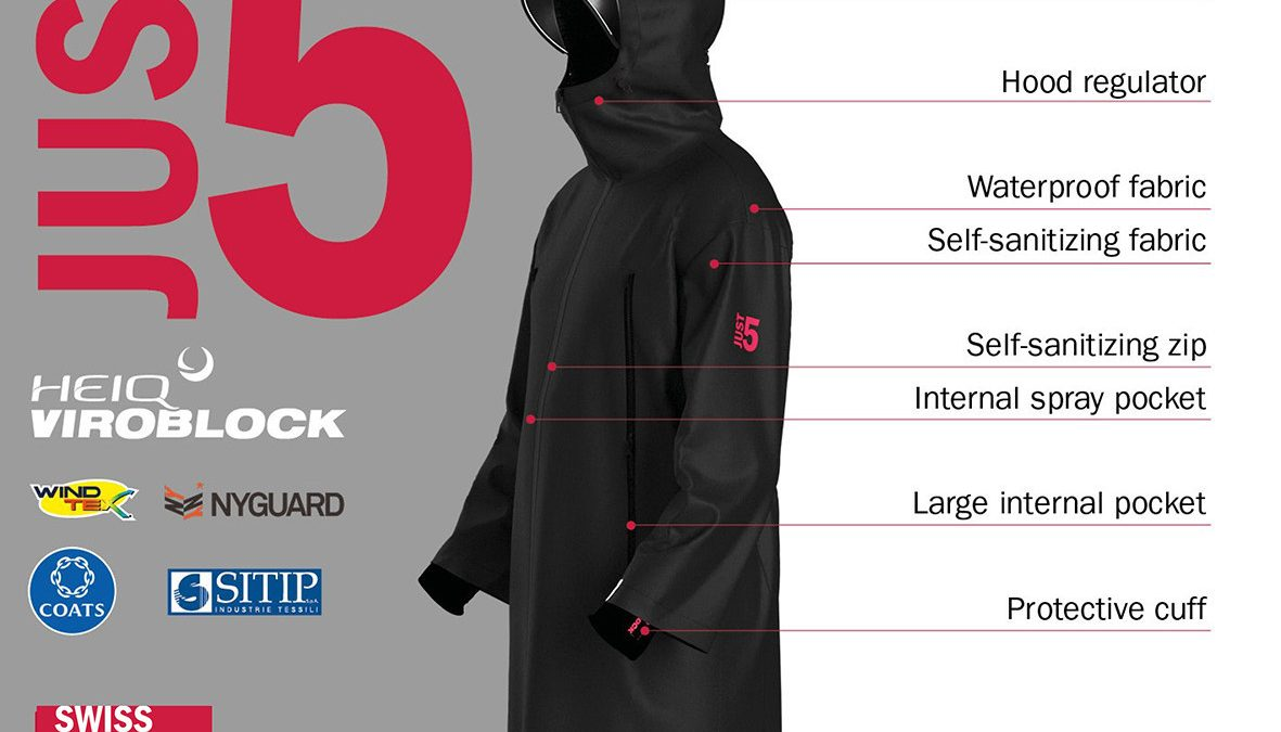 A team of companies develops Just 5 – the virus-free jacket