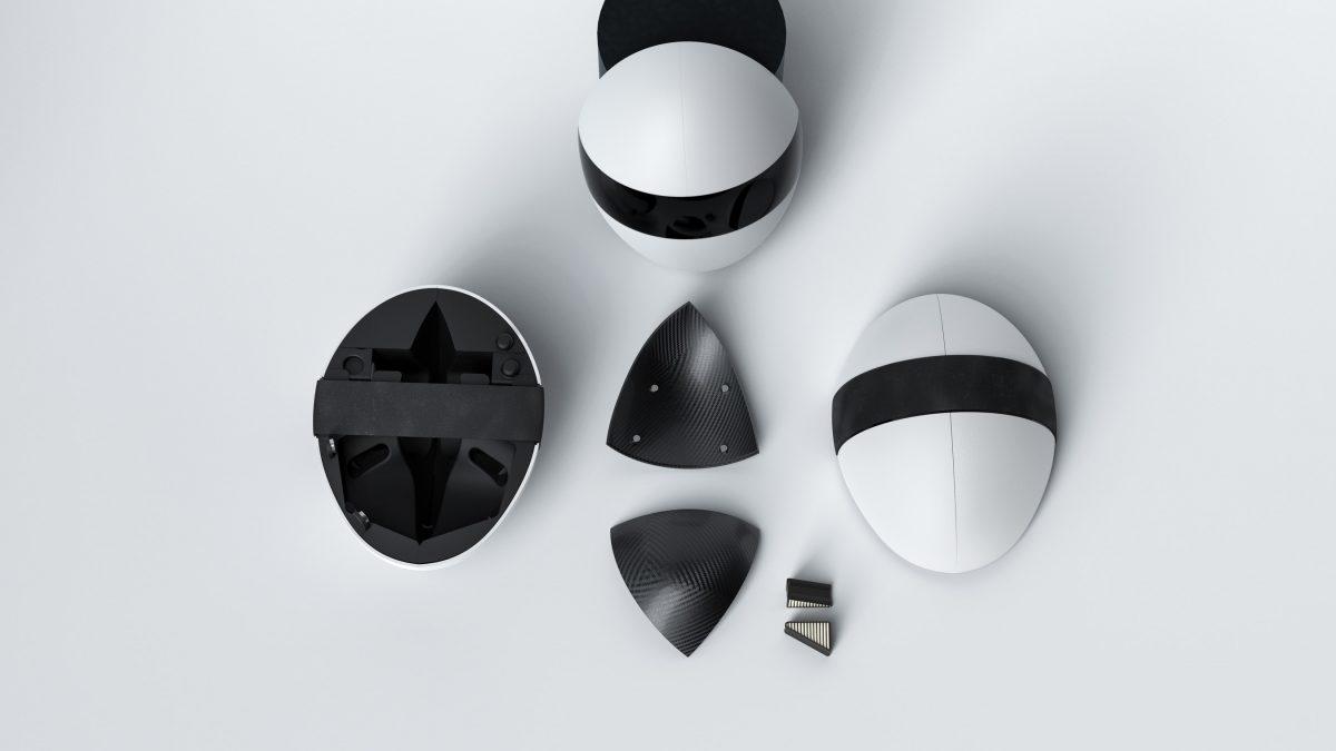 Blanc, masca inovatoare care acoperă fața și oferă protecție anti-Covid