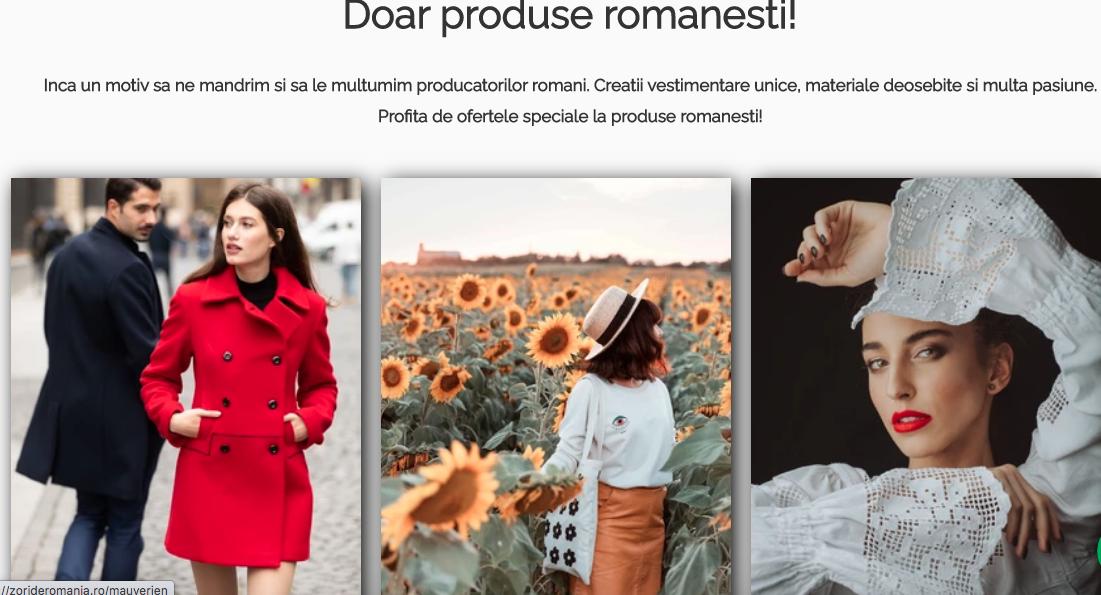 ZoriDeRomania.ro – o nouă platformă care promovează producția locală