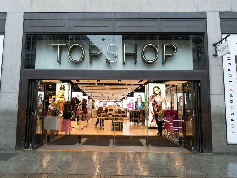 Grupul Arcadia, deținătorul brandurilor Topshop, Wallis și Dorothy Perkins, a intrat în faliment