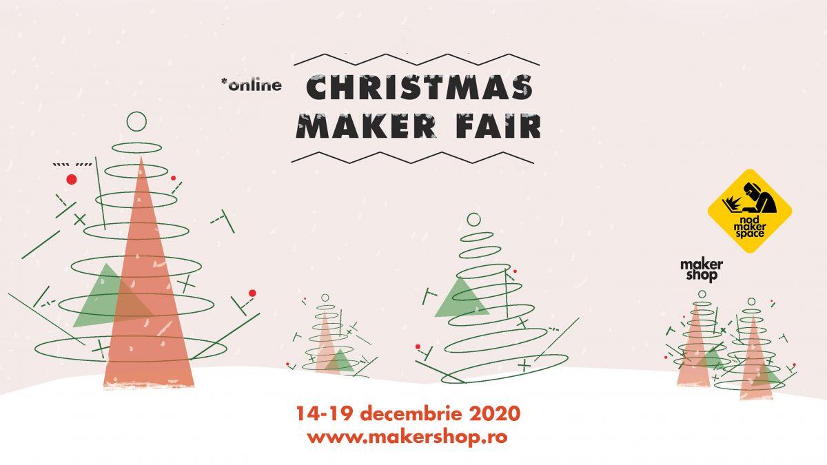 Se deschide Christmas Maker Fair, târgul online pentru designeri, artizani și mici producători