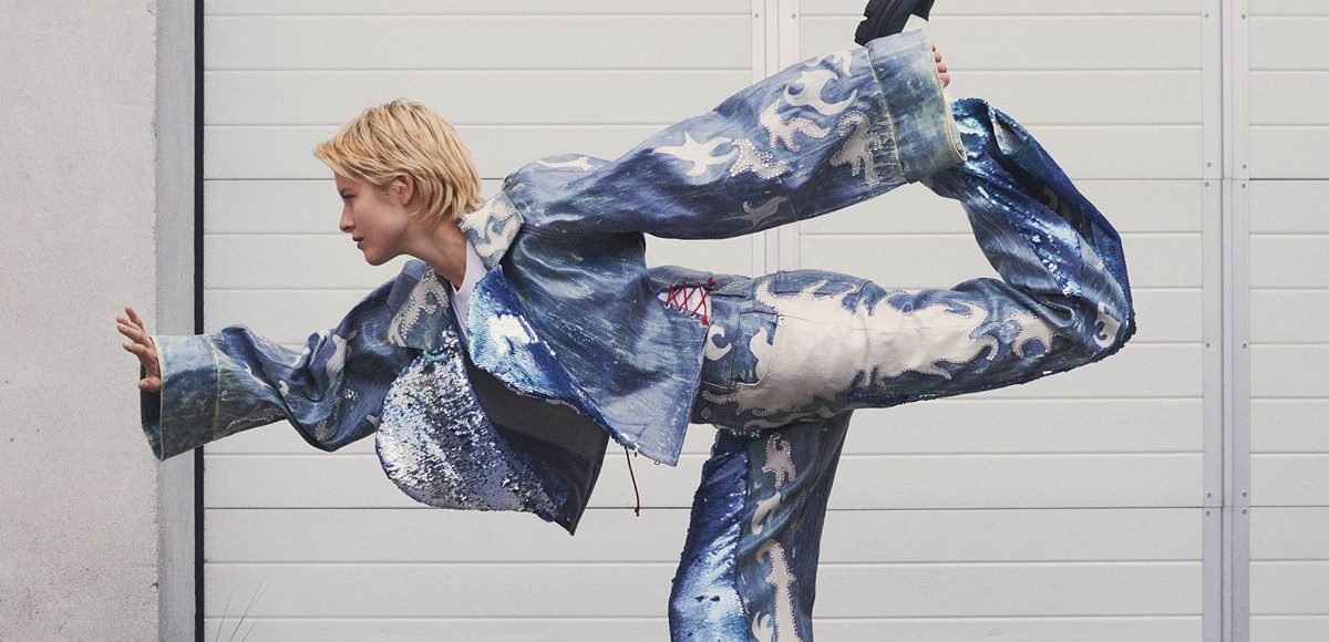 Brandul scandinav Ganni a lansat o colecție destinată doar închirierii, în cadrul Copenhagen Fashion Week