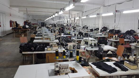 fabrică de confecții
