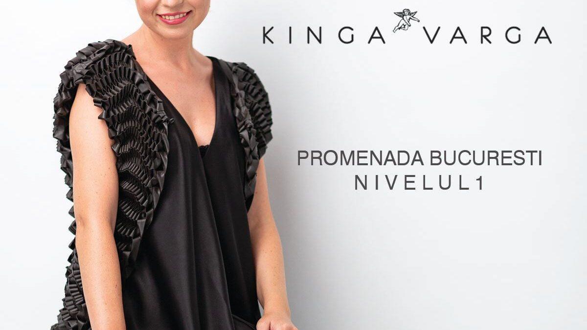 Creatoarea Kinga Varga deschide magazin în Promenada Mall